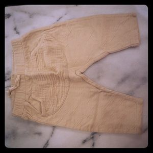 Zara baby pants super cozy!